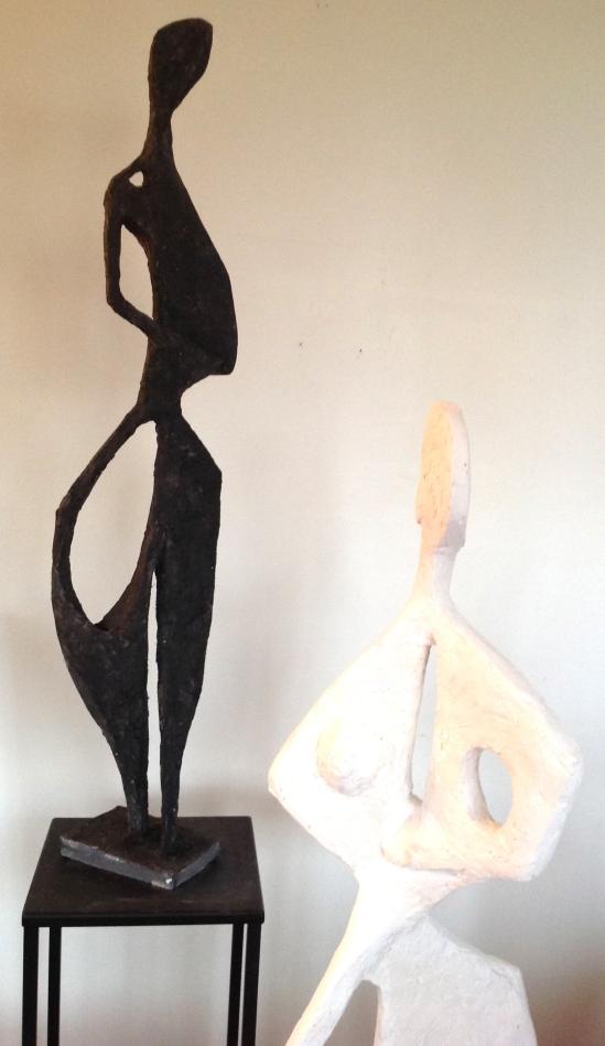 Mita-plâtre sur structure fer à béton–1m