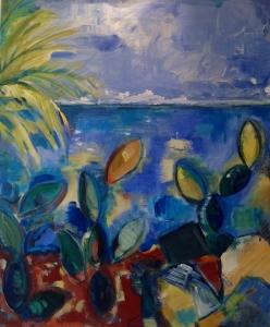 Palmbeach6-Peinture-Acrylique sur toile65cm/54cm