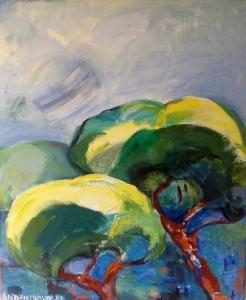 Méditerranée2-Peinture-Acrylique sur toile65cm/54cm