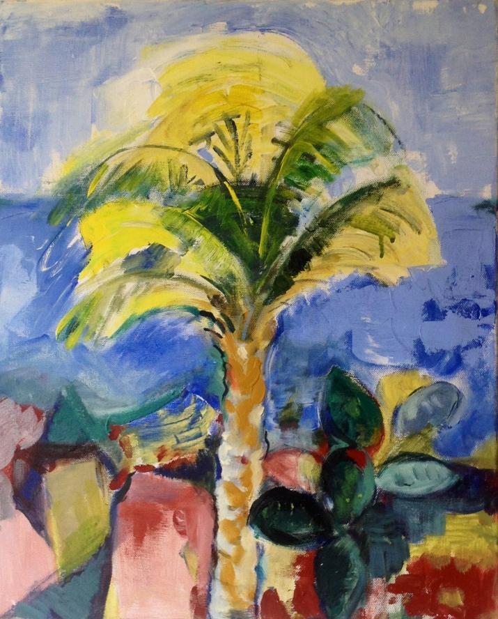 Palmbeach3-Peinture-Acrylique sur toile65cm/54cm