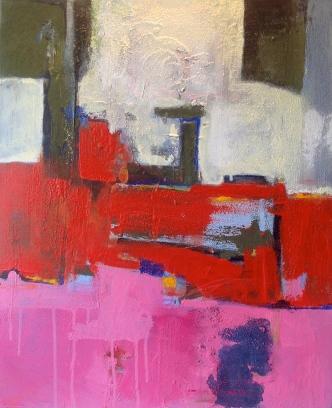 Composition1 -Peinture-Abtrait-Acrylique sur toile-65cm/54cm