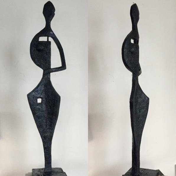 Noah -110cm Plâtre sur structure métallique
