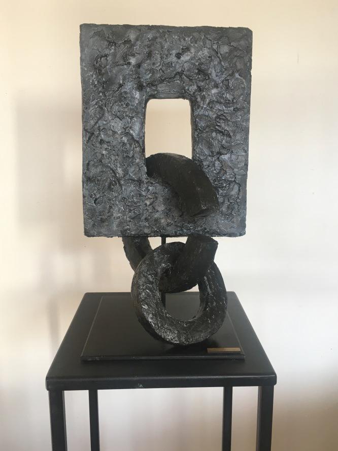 Alliance - Terre cuite stuquée 44/20/20cm