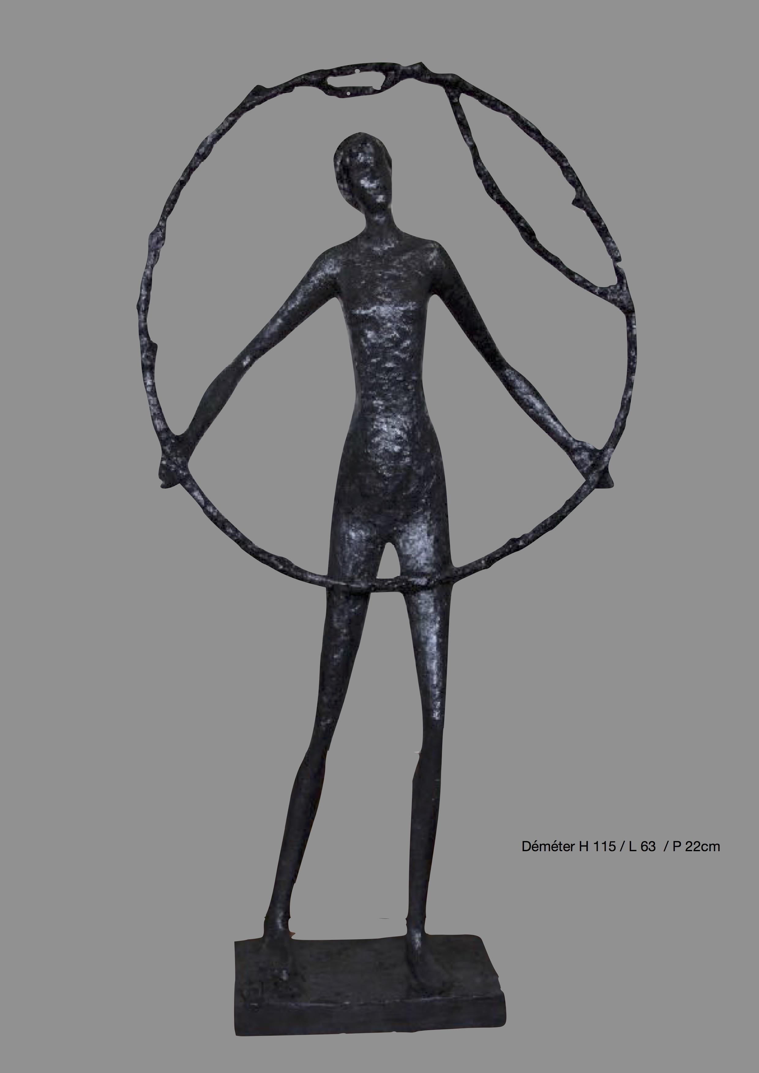 Déméter H 115/ L 63/ 22 cm